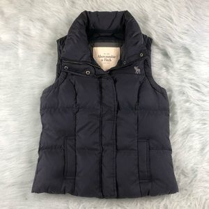 Abercrombie & Fitch Women's Goose Down Puffer Vest